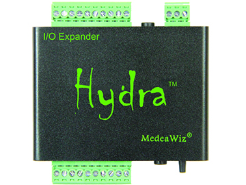 8X78-8SO input expander with outputs for MedeaWiz Sprite video player