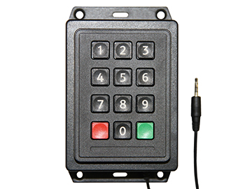 Industrial Keypad for MedeaWiz DV-S1 Sprite video player